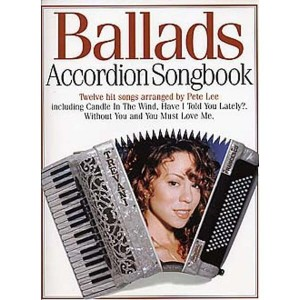 Ballads Accordion Songbook - nuty na akordeon