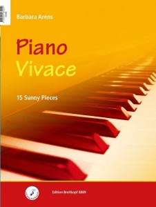 Barbara Arens: Piano Vivace / Piano Tranquillo - 15 Sunny Pieces / 15 Relaxing Pieces - nuty na fortepian