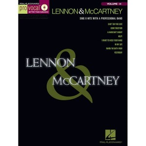Pro Vocal Men's Edition Volume 14 - Lennon & McCartney Volume 1 - nuty na głos z tekstem i akordami gitarowymi (+ płyta CD)