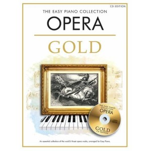The Easy Piano Collection: Opera Gold (+ płyta CD) - łatwe nuty na fortepian