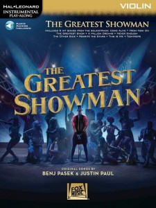 The Greatest Showman: Violin - nuty na skrzypce (+ audio online)