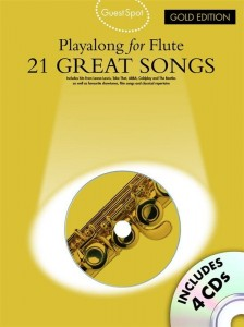 Guest Spot: 21 Great Songs - Playalong For Flute - nuty na flet poprzeczny (+ płyta CD)