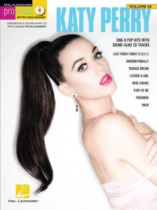 Pro Vocal Women's Edition Volume 60: Katy Perry - nuty na głos z tekstem i akordami gitarowymi (+ płyta CD)