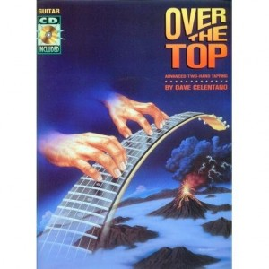 Over The Top Advanced Two Hand Tapping - Celentano (+ płyta CD) - księgarnia muzyczna Alenuty.pl