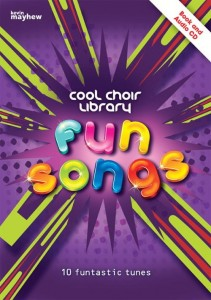 Cool Choir Library: Fun Songs (+ płyta CD) - nuty na chór dwugłosowy i fortepian