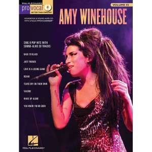 Pro Vocal Women's Edition Volume 55 - Amy Winehouse - nuty na głos z tekstem i akordami gitarowymi (+ płyta CD)