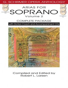 Arias For Soprano Vol. 2 - Complete Package - nuty na głos z fortepianem (+ 5 płyt CD)