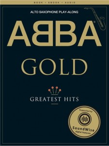 Abba Gold: Greatest Hits - Alto Saxophone Play-Along (+ audio online) - nuty na saksofon altowy