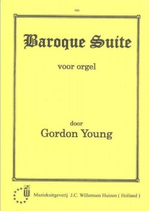 Gordon Young: Baroque Suite - nuty na organy