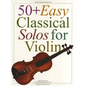 50+ Easy Classical Solos For Violin - nuty na skrzypce