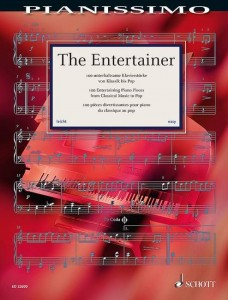 Pianissimo: The Entertainer - 100 Entertaining Piano Pieces from Classical Music to Pop - nuty na fortepian solo - księgarnia muzyczna Alenuty.pl