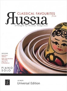 Classical Favourites from Russia piano solo - nuty na fortepian solo
