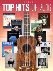 Top Hits Of 2016: Ukulele - nuty na ukulele