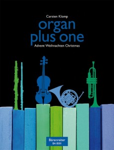 Organ plus one - Advent / Christmas - nuty na organy plus instrument C, F, B, Es (klucz wiolinowy) - Carsten Klomp