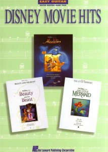 Disney Movie Hits - Easy Guitar - nuty na gitarę, tabulatura, akordy gitarowe i tekst