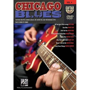 Guitar Play-Along Vol. 4 - Chicago Blues (DVD)