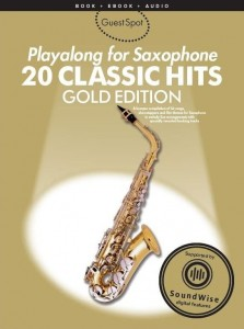 Guest Spot: 20 Classic Hits - Playalong For Saxophone - nuty na saksofon altowy (+ audio online)
