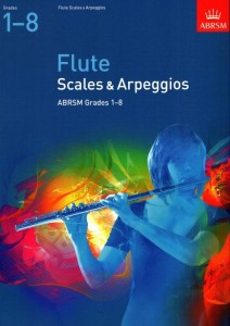 Scales and Arpeggios for Flute (Grades 1-8) - gamy i pasaże na flet