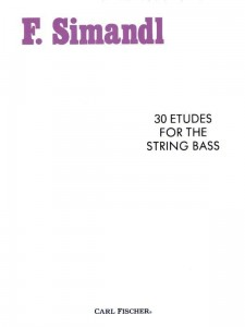 Simandl: 30 Etudes for the String Bass - ćwiczenia na kontrabas