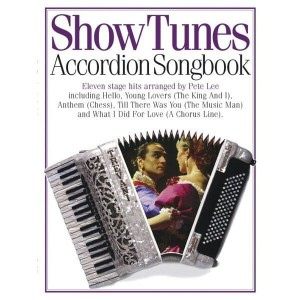 Show Tunes Accordion Songbook - nuty na akordeon