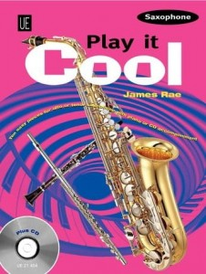 James Rae - Play it Cool - Saxophone (+ płyta CD) - nuty na saksofon altowy lub tenorowy z fortepianem