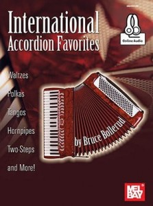 International Accordion Favorites (+ audio online) - nuty na akordeon