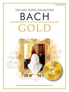 The Easy Piano Collection: Bach Gold (+ płyta CD) - łatwe nuty na fortepian