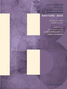 The Chester Vocal Anthology: Baritone / Bass - nuty na głos solowy (baryton lub bas) z fortepianem