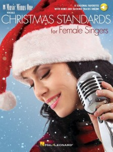 Christmas Standards for Female Singers - 8 Seasonal Favorites (+ audio online) - amerykański piosenki Bożonarodzeniowe - nuty na głos z fortepianem