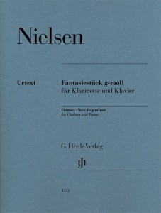 Nielsen - Fantasy Piece g minor for Clarinet - nuty na klarnet B z fortepianem