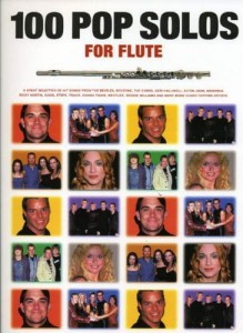 100 Pop Solos For Flute - nuty na flet