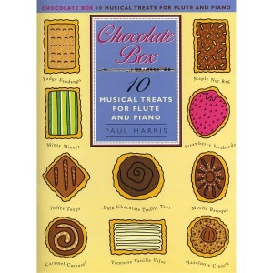 Paul Harris: Chocolate Box - 10 Musical Treats for Flute and Piano - nuty na flet z fortepianem