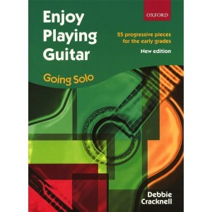 Enjoy Playing Guitar: Going Solo - Debbie Cracknell - nuty na gitarę klasyczną