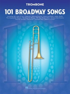 101 Broadway Songs: Trombone - nuty na puzon