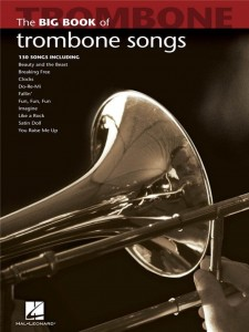 The Big Book Of Trombone Songs - nuty na puzon solo