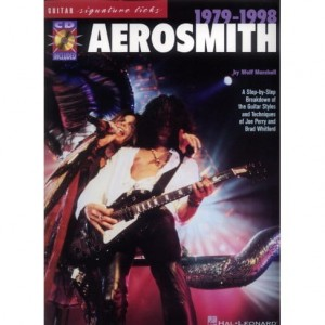 Guitar Signature Licks: Aerosmith 1979-1998 (+ płyta CD)