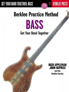 Berklee Practice Method: Get Your Band Together - Bass - Appleman, Repucci (+ płyta CD) - podręcznik gry w zespole dla basistów