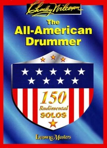 Charley Wilcoxon: The All American Drummer - 150 Rudimental Solos - szkoła na werbel