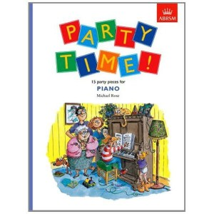 Party time - 15 party pieces for piano - nuty na fortepian