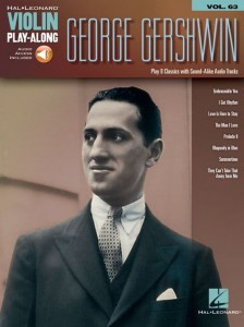 George Gershwin - Violin Play-Along Volume 63 - nuty na skrzypce (+ audio online)