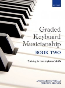Graded Keyboard Musicianship Book 2 - Thomas, Stocken - podręcznik dla pianistów i organistów