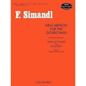 Simandl - New Method for the Double Bass 1 - szkoła na kontrabas