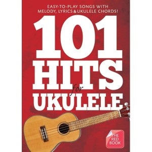 101 Hits For Ukulele (Red Book) - nuty na ukulele