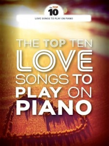 The Top Ten Love Songs To Play On Piano - nuty na fortepian, melodia, akordy gitarowe, tekst