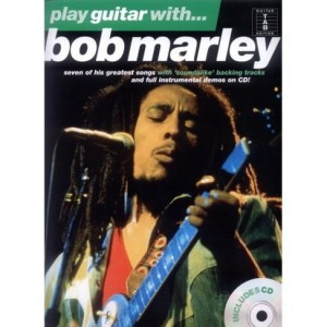 Play Guitar with Bob Marley - nuty i tabulatury na gitarę (+ płyta CD)