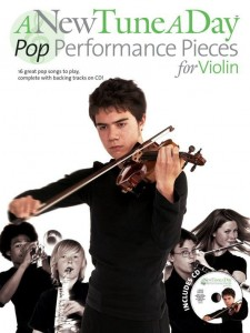 A New Tune A Day: Pop Performance Pieces for Violin - nuty na skrzypce (+ płyta CD)
