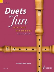 Duets for fun: Descant Recorder - łatwe duety na flety proste sopranowe