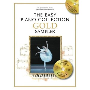 The Easy Piano Collection: Gold Sampler (+ płyta CD) - łatwe nuty na fortepian