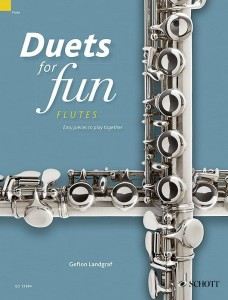 Duets for fun: Flutes - łatwe duety fletowe