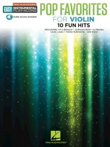 Pop Favorites for Violin: 10 Fun Hits - łatwe nuty na skrzypce (+ audio online)